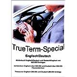 TrueTerm Special Englisch/Deutsch. CD-ROM fuer Windows98/NT/2000/Me/XP, WindowsCE (PPC2003 + Mobile Edition, HPC-PPC2002), PalmOS, Psion Epoc (nicht Nokia). Woerterbuch, Thesaurus, Verblexikon