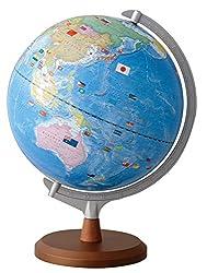 レイメイ藤井 地球儀 国旗イラスト付き 行政タイプ 30cm OYV321