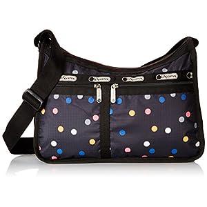[レスポートサック] ショルダーバッグ (Deluxe Everyday Bag) Deluxe Everyday Bag、軽量 7507 D600 (Litho Dot print) [並行輸入品]