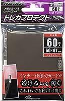 スモールサイズカード用 トレカプロテクトPro インナーブラック 60枚入