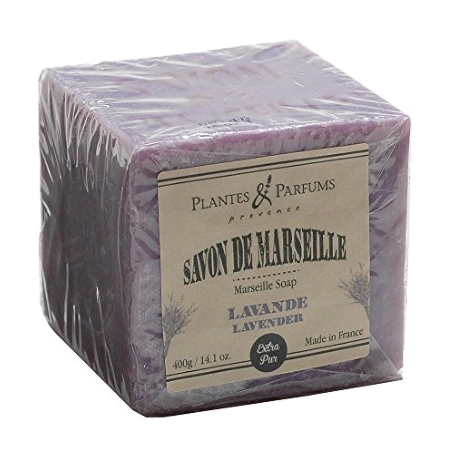 針リスキーなアクセルPlantes&Parfums [プランツ&パルファム] マルセイユソープ400g ラベンダー<br>