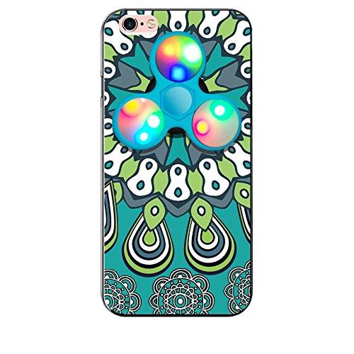 アイフォンケース 6 iphone6s ケース iphone6ケース おしゃれ アイフォンケース6s ハンドスピナー付き携帯ケース スマホケース iphone6 iphone ケース 6s LED搭載でピカピカ輝く