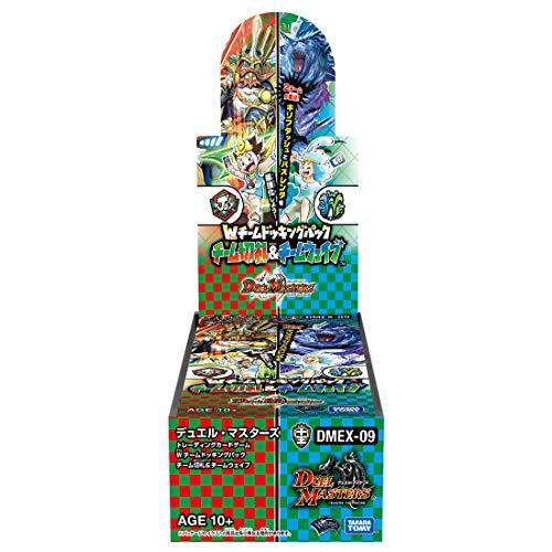 デュエル・マスターズ TCG DMEX-09 Wチームドッキングパック チーム切札 & チームウェイブ DP-BOX