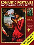Romantic Portraits Jigsaw Puzzles: Two 1000-piece Jigsaw Puzzles; the Soul of a Rose and Destiny