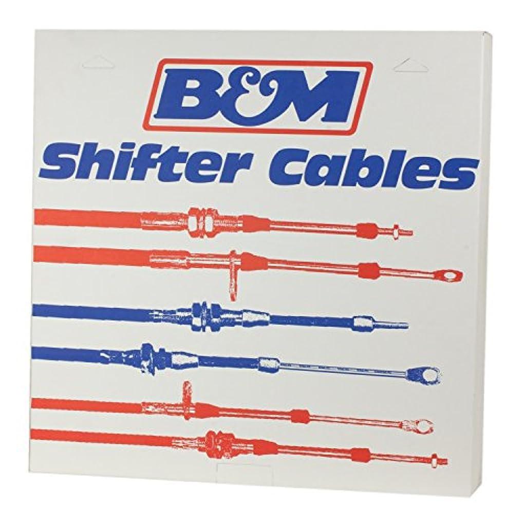 ローン白い賃金B&M 80506の性能のベルト寄せケーブル