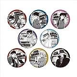 名探偵コナン モノクラシック 缶バッジ BOX商品 1BOX=8個入り、全8種類