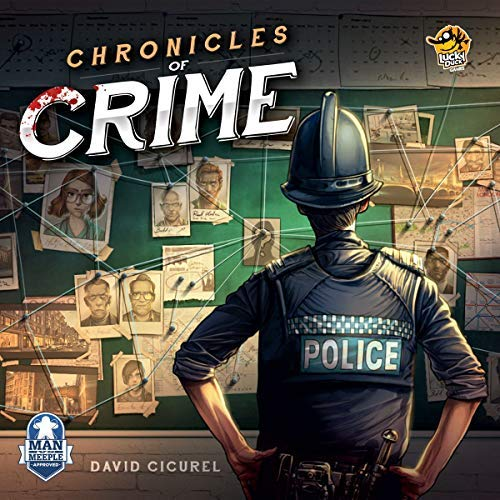 Lucky Duck Games Chronicles of Crime [並行輸入品]