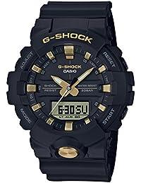 [カシオ]CASIO 腕時計 G-SHOCK ジーショック ブラック&ゴールド GA-810B-1A9JF メンズ