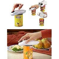 カンオープナー 缶オープナー 電動缶オープナー 切り口も安全なSafe Cut機能搭載 缶切り