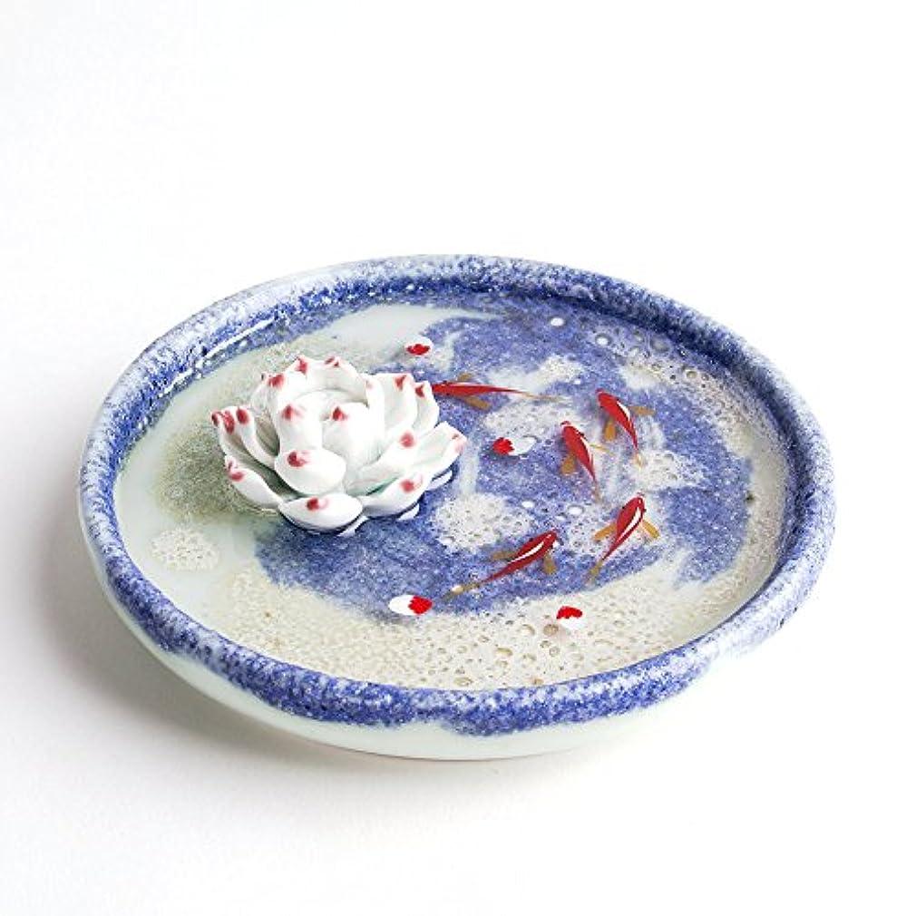 つづり接続されたおしゃれじゃないお香立て お香たて 香の器 お香を焚いて 香皿,陶磁器、ブルー