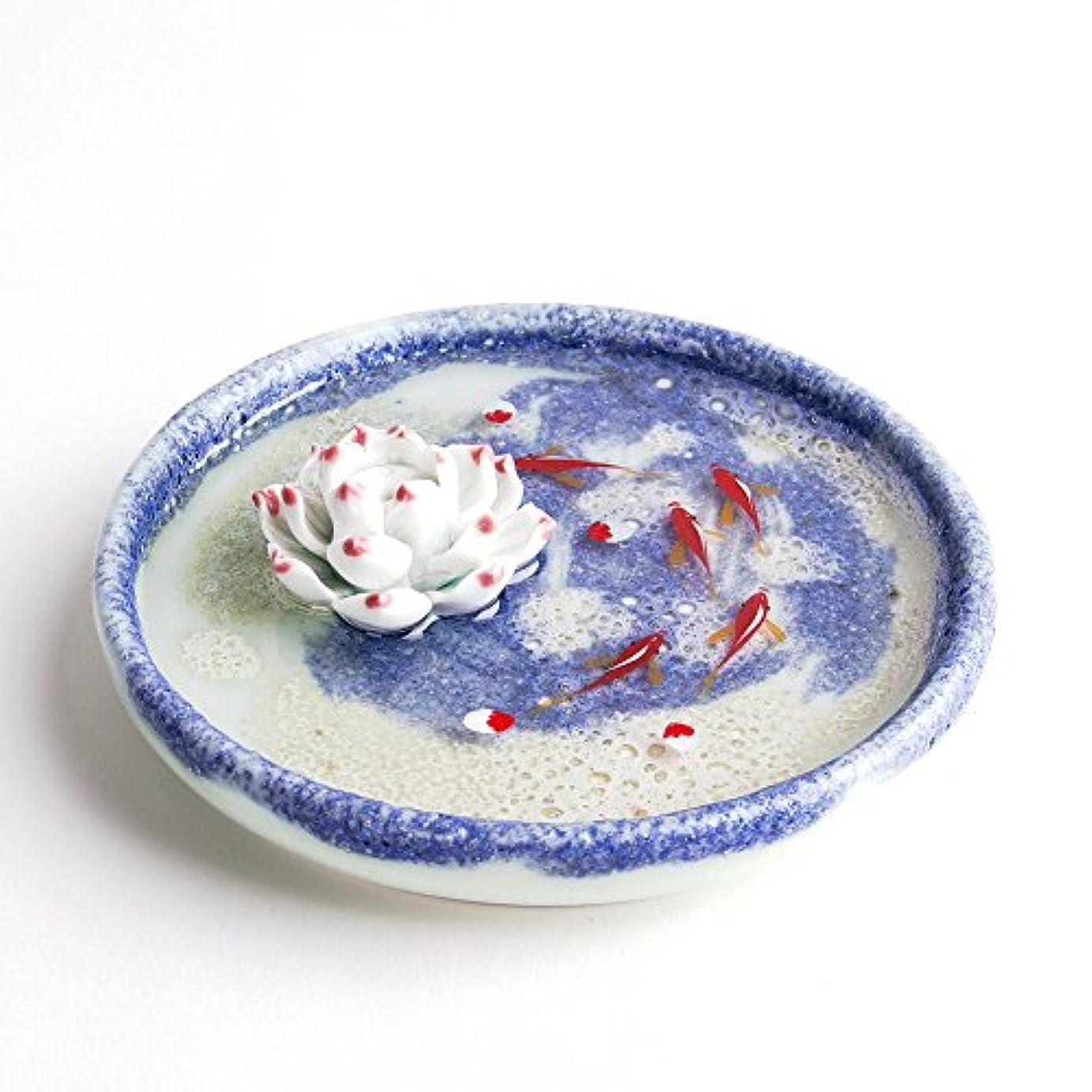 二層種壊れたお香立て お香たて 香の器 お香を焚いて 香皿,陶磁器、ブルー