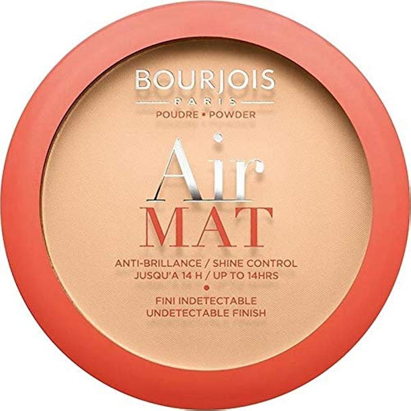 郡指導する高さ[Bourjois ] ブルジョワ空気マット圧粉 - ライトベージュ - Bourjois Air Mat Pressed Powder - Light Beige [並行輸入品]
