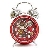 ダヤン ツインベル目覚まし時計 赤い部屋のマカロン