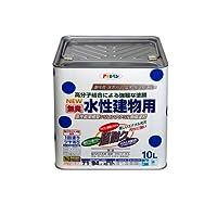 アサヒペン NEW水性建物用 黒10L 【まとめ買い3缶セット】