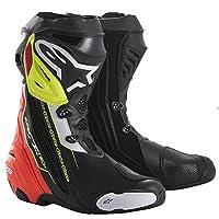 alpinestars(アルパインスターズ)バイクブーツ ブラック/レッド/イエローフロー 44/28.5cm SUPERTECH-R(スーパーテックR)ブーツ0015 1691310544