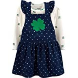 Carter's St Patricks Day Dress with Shamrock for Baby Girls