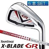 ブリヂストン TOURSTAGE アイアンセット NEW ツアーステージ X-BLADE GR カーボン(6本セット) S