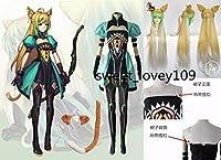 コスプレ衣装 Fate/Apocrypha Fate/Grand Order アタランテ/阿塔蘭塔 +靴下+手袋+髪飾り+尻尾+ウイッグ