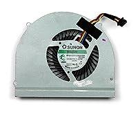 iifix新しいCPU冷却ファンクーラーfor Dell Latitude e6530、P / N : m2cfg、0m2cfg、4線コネクタ