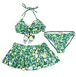 (レベッカテイラー) REBECCA TAYLOR スカート付き小花柄ビキニ水着3点セット 8794