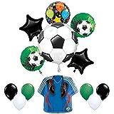 Mayflower Products サッカーパーティー用品 ゴールゲッター誕生日とジャージバルーンブーケデコレーション