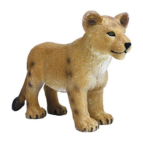 プラッツ My Little Zoo ライオン (子) 全長約75mm 彩色済み動物フィギュア MJP387011