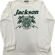 Jackson(ジャクソン) Tシャツ トロピカル ロングドライ M ホワイト