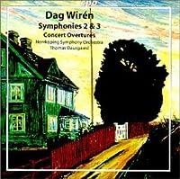 Wiren: Symphonies 2 & 3 / Concert Overtures (2000-04-11)