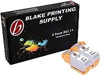 2blacks Blake印刷供給bci11インクカートリッジCanon BJC - 50bjc-55bjc-70bjc-80bjc-85bjc-85W lr1Printstation AppleカラーStylewriter 2200