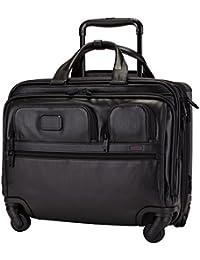 [ トゥミ ] Tumi キャリケース キャリーバッグ 28L 4輪 4ウィール・デラックス・ブリーフ 096627D2 ブラック ALPHA 2 4 Wheel Deluxe Brief with Laptop Case Black [並行輸入品]
