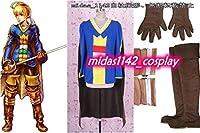 修正版 ディシディアファイナルファンタジー ラムザベオルブ 全セット コスプレ衣装