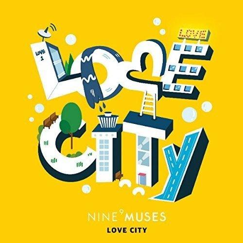 [画像:Nine Muses リパッケージ・ミニアルバム - Muses Diary Part.3: Love City]