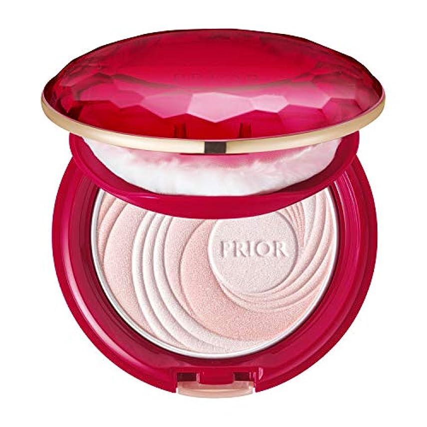 気体の感じ導入するプリオール 美つやアップおしろい ピンク 9.5g