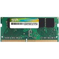 シリコンパワー ノートPC用メモリ DDR4-2400(PC4-19200) 8GB×1枚 260Pin 1.2V CL17 永久保証 SP008GBSFU240B02
