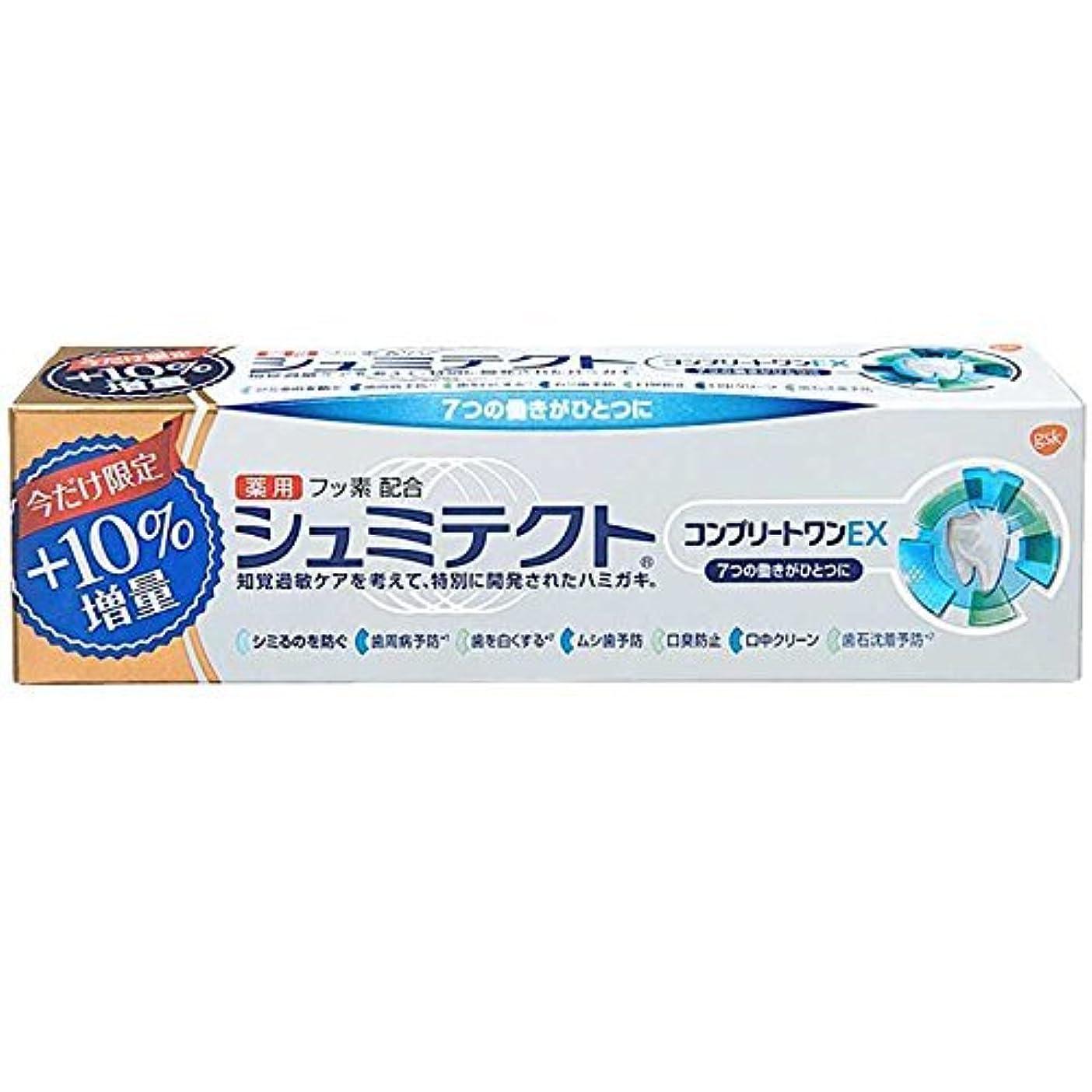 異なる収まる苦い薬用シュミテクトコンプリートワンEX増量99g