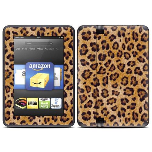DecalGirl スキンシール Kindle Fire HD(2012年モデル)専用スキン - Leopard Spots