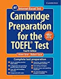 Cover of Cambridge Preparation for the TOEFL Test Book with Online Practice Tests