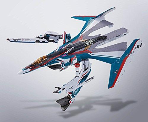 DX超合金 マクロスデルタ VF-31Sジークフリード(アラド・メルダース機) 約260mm ダイキャスト&ABS&PVC製 塗装済み可動フィギュア