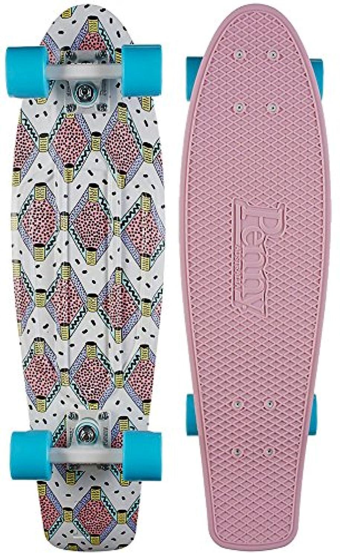 Penny Buffy 27' Skateboard Complete Nickel Board - Pink by Penny
