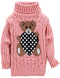 c662d316f84cf ONESMTM 女の子 男の子 キッズ ジュニア セーター タートルネック ニット プルオーバー 子供服 セーター ...