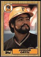 野球MLB 1987Topps # 583Junior Ortiz Pirates