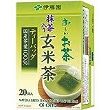 伊藤園 おーいお茶ティーバッグ 抹茶入玄米茶 20袋×3
