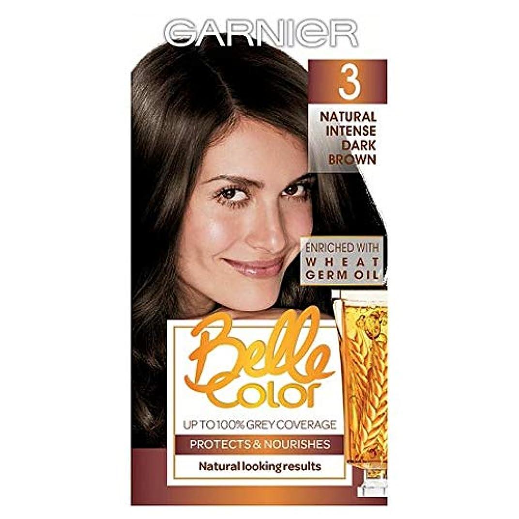 倍率見通し肯定的[Belle Color ] ガーン/ベル/Clr 3ダークブラウンパーマネントヘアダイ - Garn/Bel/Clr 3 Dark Brown Permanent Hair Dye [並行輸入品]