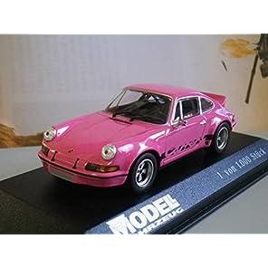 レア 1/43 MODEL FAHRZEUG 特注 ポルシェ 911 カレラ ピンク 限定1000個