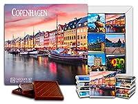 """DA CHOCOLATE キャンディ スーベニア """"コペンハーゲン"""" COPENHAGEN"""" チョコレートセット 5×5一箱 (Boats)"""