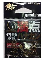 がまかつ(Gamakatsu) 鮎針 満点ハナカン 5.5号 68310