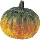 ミニパンプキン(オレンジグリーン)(VF1022ORGR)[食品サンプル フェイクフード ディスプレイ 野菜 かぼちゃ カボチャ ハロウィン パンプキン]