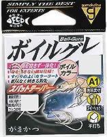 がまかつ(Gamakatsu) シングルフック A1 ボイルグレ 9号 9本 ボイルカラー 67199