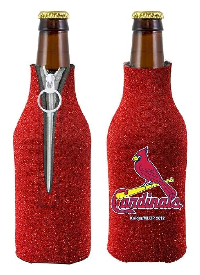衝突腐食するこだわりCaseys 8686744688 St. Louis Cardinals Bottle Suit Holder - Glitter
