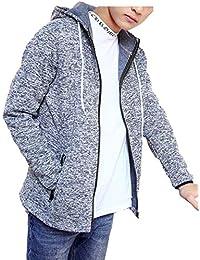 [ Smaids x Smile (スマイズ スマイル) ] デザイン パーカー 長袖 ジップアップ フード オシャレ シンプル メンズ